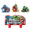 AVENGER EPIC CANDLE SET PARTY SUPPLIES