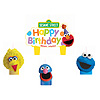 DISCONTINUED SESAME STREET CANDLES PARTY SUPPLIES