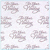 DISCONTINUED WEDDING WISHES GIFT WRAP PARTY SUPPLIES