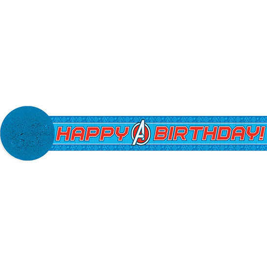 DISCONTINUED AVENGERS STREAMER PARTY SUPPLIES