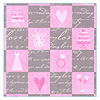 DISCONTINUED WEDDING BLISS GIFT WRAP RLL PARTY SUPPLIES