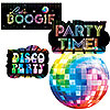 DISCO FEVER DECORATING VALUE PACK PARTY SUPPLIES