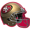 SAN FRANCISCO 49ERS DECORATION PARTY SUPPLIES