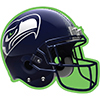 SEATTLE SEAHAWKS DECORATION PARTY SUPPLIES