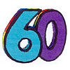 60TH PINATA PARTY SUPPLIES