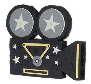 PINATA-MOVIE CAMERA PARTY SUPPLIES