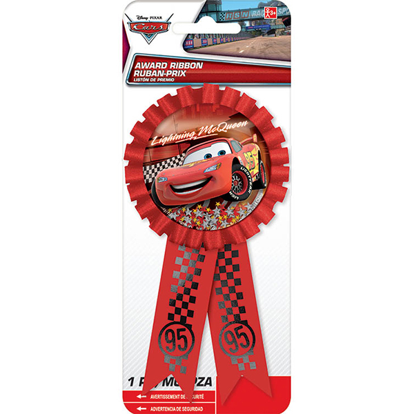 DISCONTINUED CARS FORMULA  AWARD RIBBON PARTY SUPPLIES