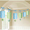 MICKEY 1ST BIRTHDAY LANTERN GARLAND PARTY SUPPLIES