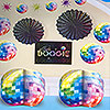 DISCO FEVER DECORATING KIT PARTY SUPPLIES