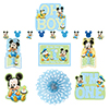 MICKEY 1ST BIRTHDAY DECORATING KIT PARTY SUPPLIES