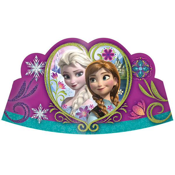 FROZEN TIARA/ HAT DECORATION (48/CS) PARTY SUPPLIES