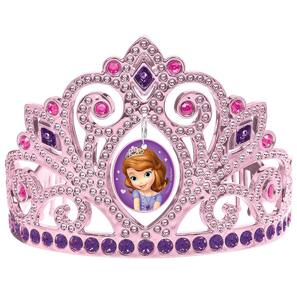 SOFIA THE FIRST SILVER TIARA PARTY SUPPLIES