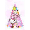 HELLO KITTY BALLOONS CONE HAT PARTY SUPPLIES