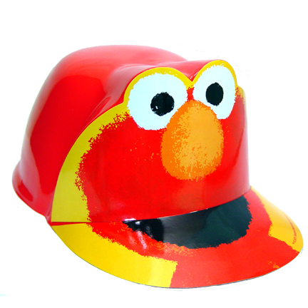 Click For Larger Picture Of DISCONTINUED SESAME 1ST BDAY ELMO HAT PARTY SUPPLIES