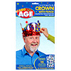 ADD AN AGE FRINGED CROWN PARTY SUPPLIES