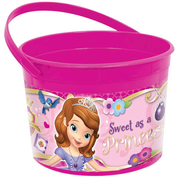 SOFIA THE FIRST FAVOR CONTAINER PARTY SUPPLIES