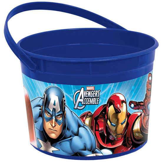 DISCONTINUED AVENGERS FAVOR CONTAINER PARTY SUPPLIES