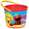 SESAME STREET FAVOR CONTAINER PARTY SUPPLIES