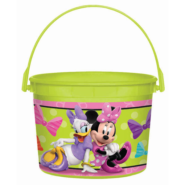 DISCONTINUED MINNIE MOUSE FAVOR CONTAINR PARTY SUPPLIES