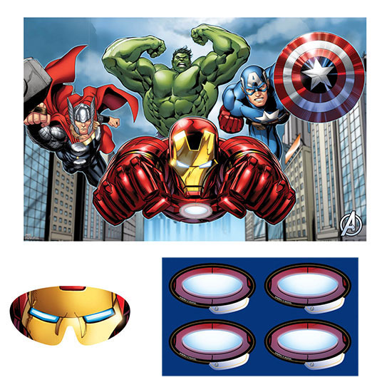 DISCONTINUED AVENGERS PARTY GAME PARTY SUPPLIES
