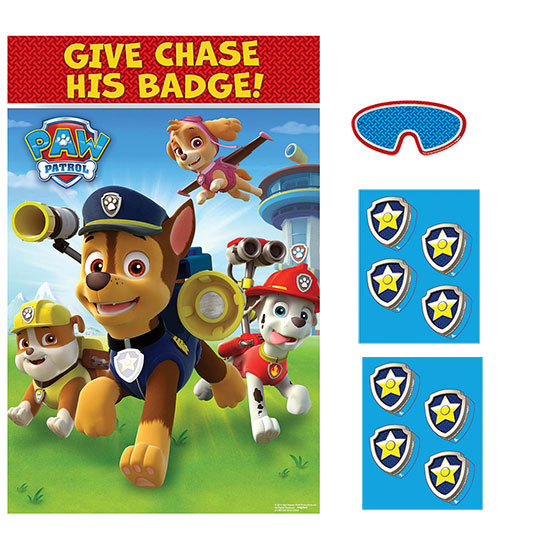 PAW PATROL PARTY GAME PARTY SUPPLIES