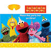 SESAME STREET PARTY GAME PARTY SUPPLIES