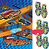 HOT WHEELS S.C. PARTY GAME (6/CS) PARTY SUPPLIES