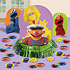 DISCONTINUED SESAME ST TABLE DECOR KIT PARTY SUPPLIES