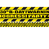 30TH BIRTHDAY CAUTION TAPE PARTY SUPPLIES