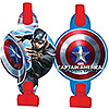 CAPTAIN AMERICA BLOWOUTS PARTY SUPPLIES