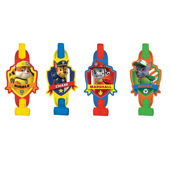 PAW PATROL BLOWOUTS PARTY SUPPLIES