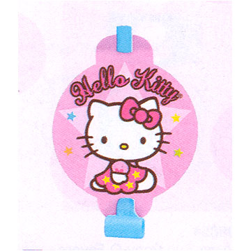 Click for larger picture of HELLO KITTY BALLOONS BLOWOUT PARTY SUPPLIES