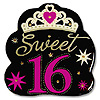 SWEET 16 FLASHING BUTTON PARTY SUPPLIES