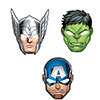 AVENGER EPIC PARTY MASKS PARTY SUPPLIES