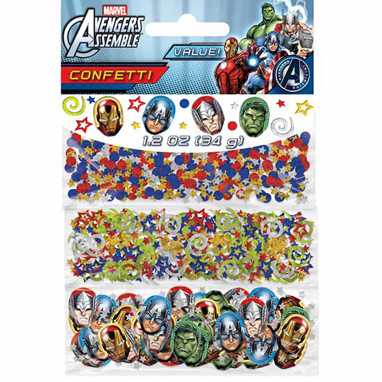 DISCONTINUED AVENGERS CONFETTI PARTY SUPPLIES