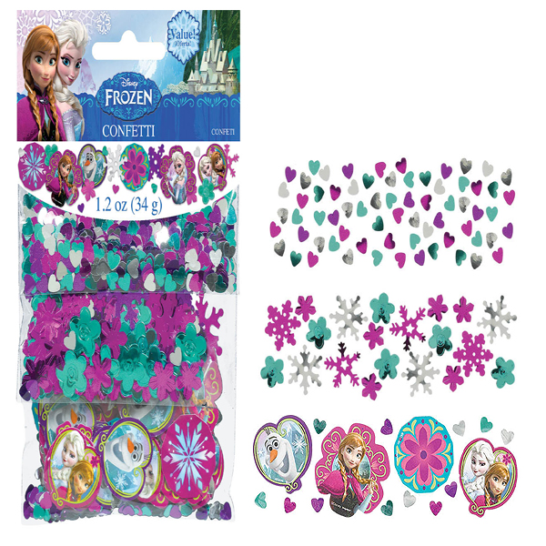 FROZEN CONFETTI COMBO VALUE PACK (6/CS) PARTY SUPPLIES