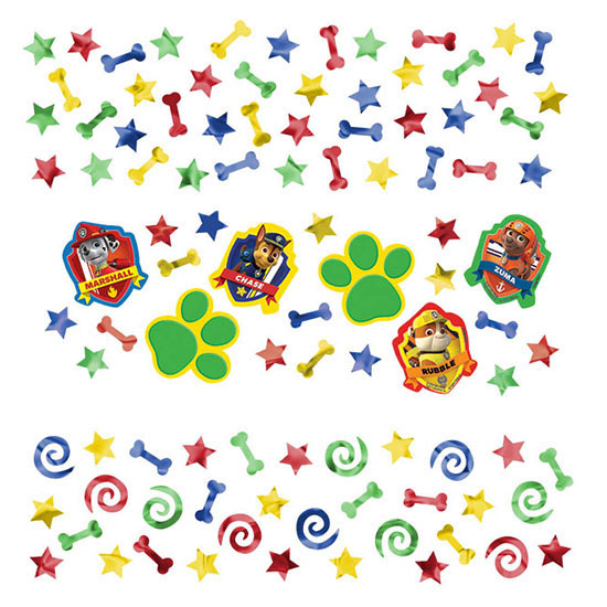 PAW PATROL CONFETTI PARTY SUPPLIES