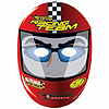 HOT WHEELS S.C. MASK (48/CS) PARTY SUPPLIES