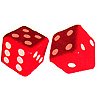 INFLATABLE DICE DECORATION PARTY SUPPLIES