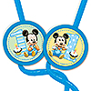 MICKEY 1ST BIRTHDAY KRAZY STRAW FAVOR PARTY SUPPLIES