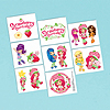 STRAWBERRY SC TATTOOS (6/CS) PARTY SUPPLIES