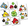 ANGRY BIRDS TATTOO FAVORS PARTY SUPPLIES