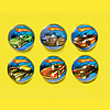 HOT WHEELS S.C. BOUNCE BALL FAVR (36/CS) PARTY SUPPLIES