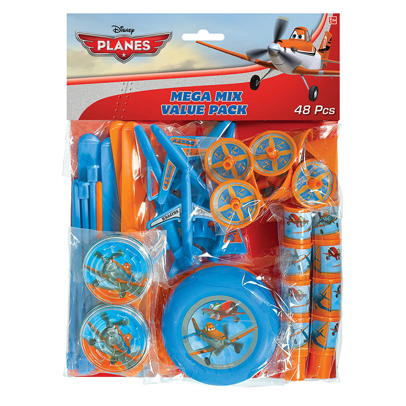 DISCONTINUED PLANES DUSTY MEGA FAVOR PCK PARTY SUPPLIES