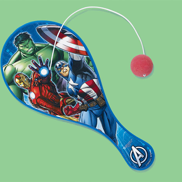 AVENGERS PADDLE BALLS PARTY SUPPLIES