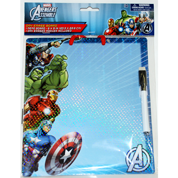 AVENGERS DRY ERASE BOARD PARTY SUPPLIES