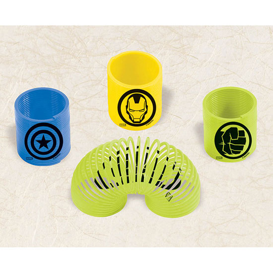 DISCONTINUED AVENGERS SPRING FAVOR PARTY SUPPLIES