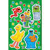 DISCONTINUED SESAME STREET PARTY STICKER PARTY SUPPLIES