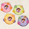 DORA THE EXPLORER TAMBOURINE FAVR (6/CS) PARTY SUPPLIES