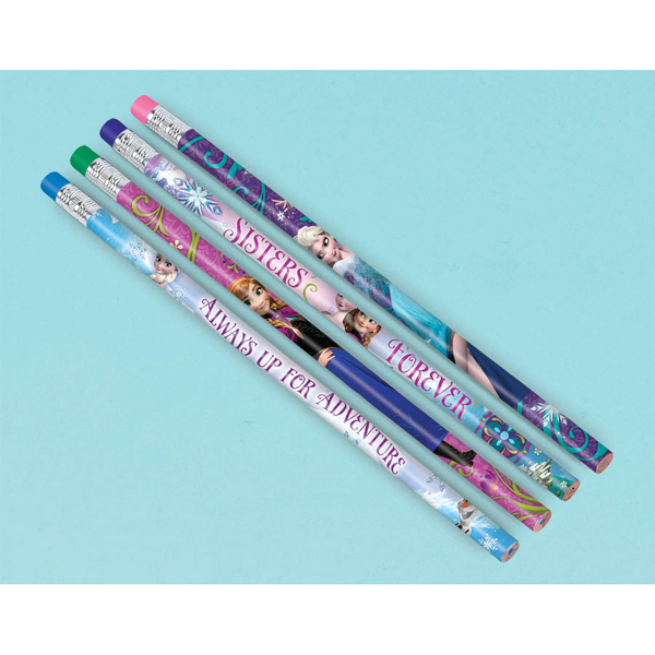 FROZEN PENCIL FAVOR PACK 12/PKG (72/CS) PARTY SUPPLIES